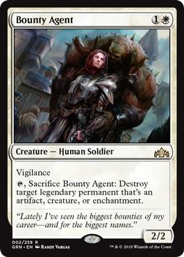 《報奨密偵/Bounty Agent》[GRN] 白R