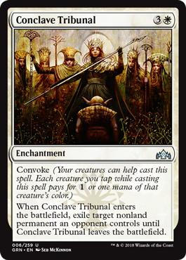 《議事会の裁き/Conclave Tribunal》[GRN] 白U