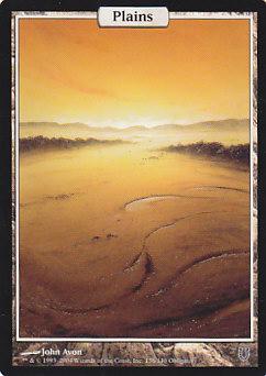 【Foil】《平地/Plains》[UNH] 土地