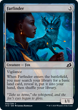 《彼方見/Farfinder》[IKO] 無C