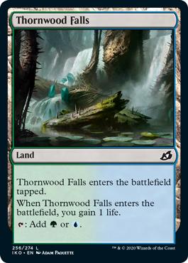 《茨森の滝/Thornwood Falls》[IKO] 土地C