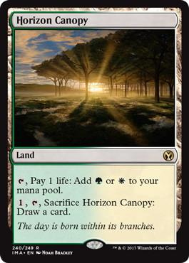 《地平線の梢/Horizon Canopy》[IMA] 土地R