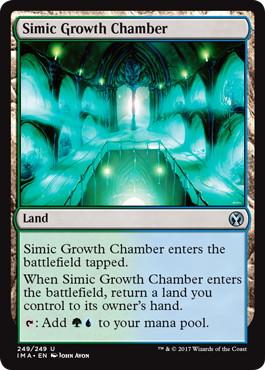 《シミックの成長室/Simic Growth Chamber》[IMA] 土地U