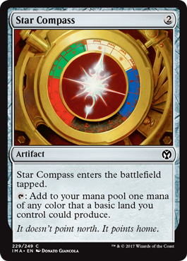 《星のコンパス/Star Compass》[IMA] 茶C