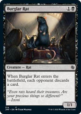 《泥棒ネズミ/Burglar Rat》[JMP] 黒C