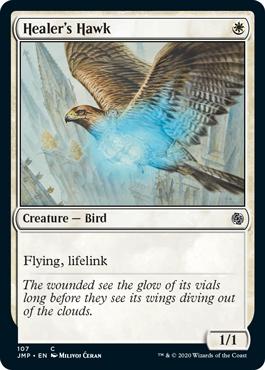 《癒し手の鷹/Healer's Hawk》[JMP] 白C