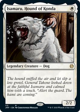 《今田家の猟犬、勇丸/Isamaru, Hound of Konda》[JMP] 白R
