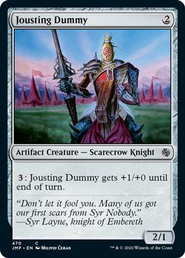 《馬上槍の練習台/Jousting Dummy》[JMP] 茶C