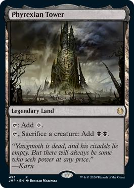 《ファイレクシアの塔/Phyrexian Tower》[JMP] 土地R