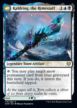 《冬の神、ヨーン/Jorn, God of Winter》[KHM] 緑R