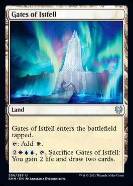 《イストフェルの門/Gates of Istfell》[KHM] 土地U