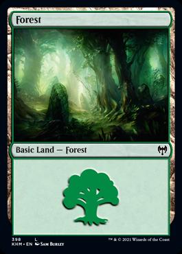 《森/Forest》[KHM] 土地