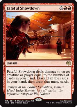 《宿命の決着/Fateful Showdown》[KLD]赤R