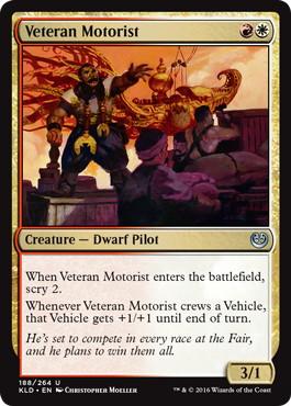 《経験豊富な操縦者/Veteran Motorist》[KLD]金U