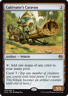 《耕作者の荷馬車/Cultivator's Caravan》[KLD] 茶R