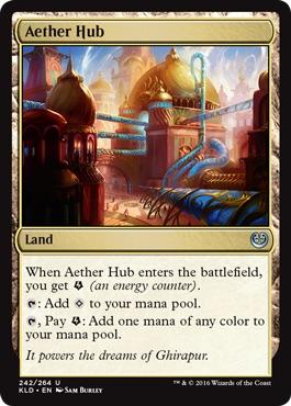 《霊気拠点/Aether Hub》[KLD] 土地U