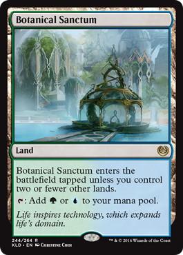 《植物の聖域/Botanical Sanctum》[KLD] 土地R