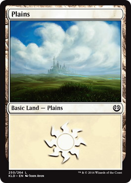 《平地/Plains》[KLD] 土地 (250)