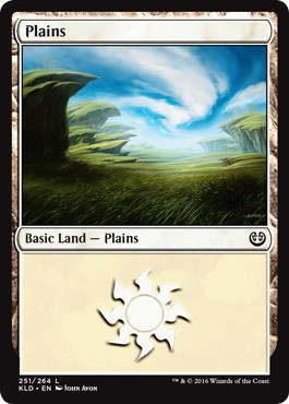 《平地/Plains》[KLD] 土地 (251)