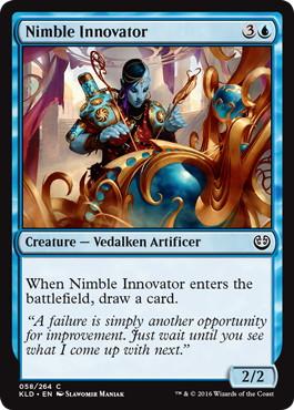 《敏捷な革新者/Nimble Innovator》[KLD]青C