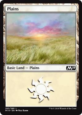 《平地/Plains》[M19] 土地 (263)