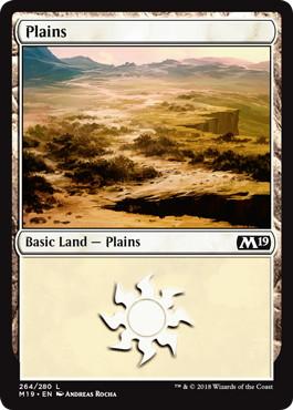 《平地/Plains》[M19] 土地 (264)