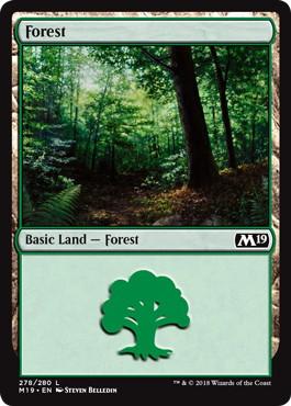 《森/Forest》[M19] 土地 (278)