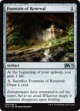 《更生の泉/Fountain of Renewal》[M19] 茶U