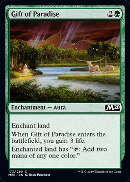 《楽園の贈り物/Gift of Paradise》[M20] 緑C