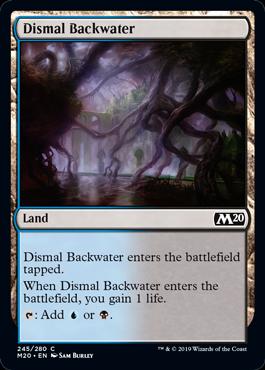 《陰鬱な僻地/Dismal Backwater》[M20] 土地C