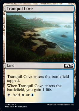 《平穏な入り江/Tranquil Cove》[M20] 土地C
