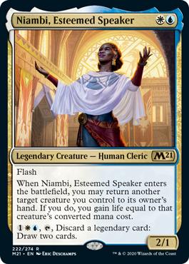 《尊敬される語り手、ニアンビ/Niambi, Esteemed Speaker》[M21] 金R