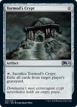 《トーモッドの墓所/Tormod's Crypt》[M21] 茶U