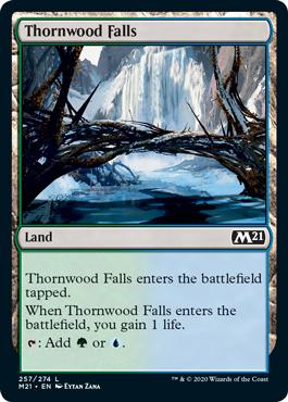 《茨森の滝/Thornwood Falls》[M21] 土地C