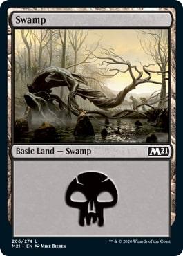 《沼/Swamp》[M21] 土地(266)