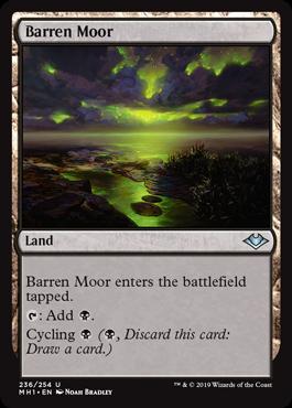 《やせた原野/Barren Moor》[MH1] 土地U