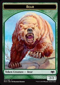 《熊 トークン》[MH1]緑