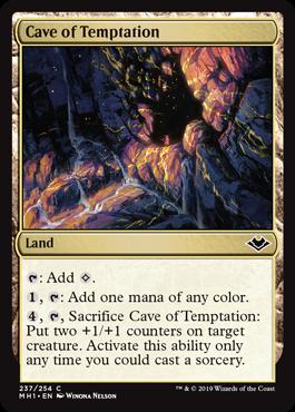 《誘惑の洞窟/Cave of Temptation》[MH1] 土地C