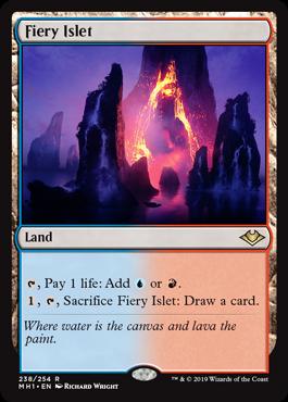 Fiery Islet