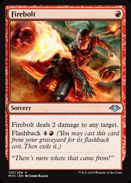 《炎の稲妻/Firebolt》[MH1] 赤U