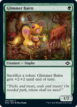 《薄光の子/Glimmer Bairn》[MH2] 緑C