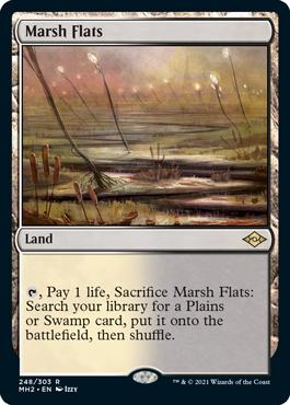 《湿地の干潟/Marsh Flats》[MH2] 土地R