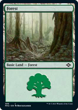 《森/Forest》[MH2] 土地(489)