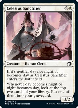 《セレスタスの奉納者/Celestus Sanctifier》[MID] 白C