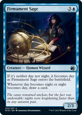 《天空の賢者/Firmament Sage》[MID] 青U