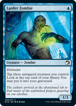 Larder Zombie