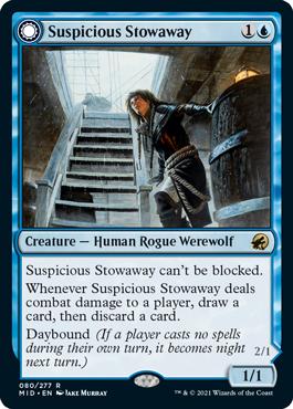 《怪しげな密航者/Suspicious Stowaway》[MID] 青R