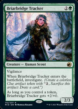 《茨橋の追跡者/Briarbridge Tracker》[MID] 緑R