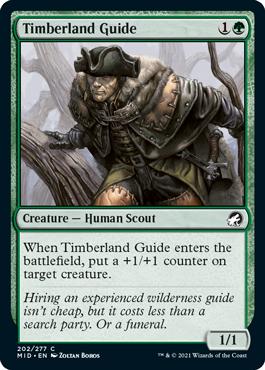 《森林地の先達/Timberland Guide》[MID] 緑C