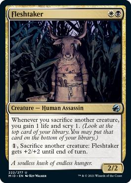 《肉削ぎ屋/Fleshtaker》[MID] 金U
